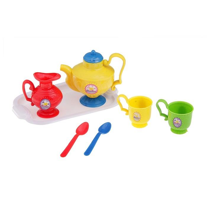 """Набор посуды """"Чаепитие-1"""" с подносом, 7 предметов"""