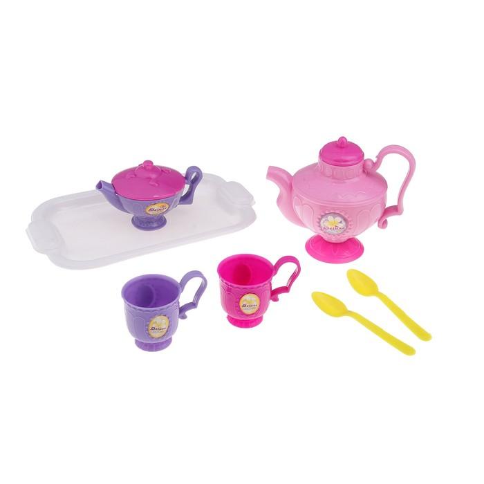 """Набор посуды """"Чаепитие-2"""" с подносом, 7 предметов"""