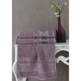 Полотенце Rebeka, размер 70х140 см, цвет лаванда, махра 350 г/м2 2658