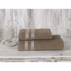 Полотенце Petek, размер 50х70 см, цвет кофейный, махра 380 г/м2 2143