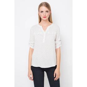 Блузка женская 16136-7, цвет белый, р-р 42 рост 175