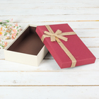 Коробка подарочная 26 х 16 х 5,5 см
