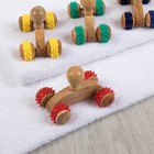 Массажёр деревянный универсальный, цвета МИКС