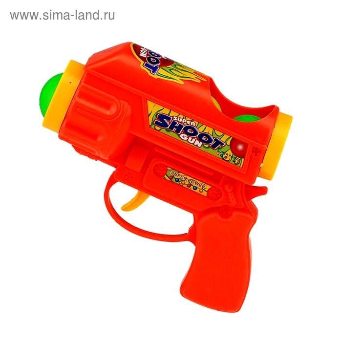 Пистолет помпа, цвета МИКС