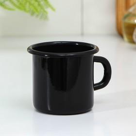 Кружка 380 мл, цвет черный