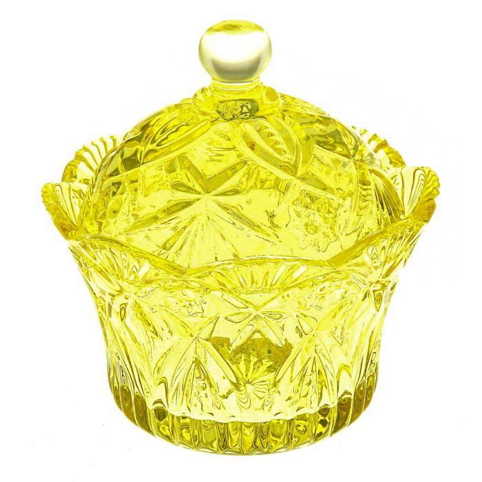 """Сахарница 250 мл """"Галерея"""", цвет желтый"""