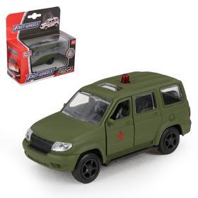 """Машина металлическая """"Патриот военный"""", масштаб 1:50, инерция"""