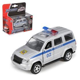"""Машина металлическая """"Полиция"""", масштаб 1:50, инерция"""