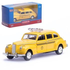 """Машина металлическая """"Лимузин такси"""", масштаб 1:43, инерция"""