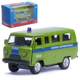 "Машина металлическая ""Микроавтобус ВАИ"", масштаб 1:50, инерция"