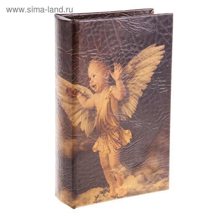 """Шкатулка-книга """"Забавы ангелов"""""""