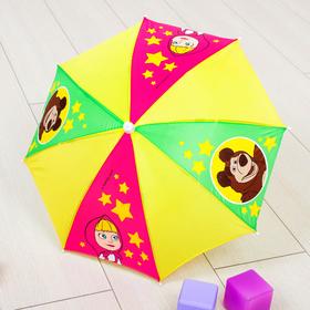 Зонт детский 'Маша' Маша и Медведь 8 спиц d=52 см Ош
