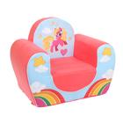 """Мягкая игрушка кресло """"Пони"""""""