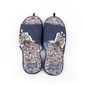 Обувь домашняя  женская 1776W-ASO-S (синий) (р.37)