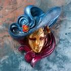 """Венецианская маска """"Розы""""  26см"""