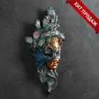"""Венецианская маска """"Павлин"""" цветной 55см"""
