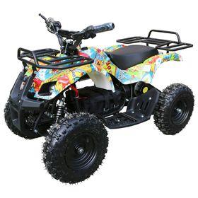 Детский электро квадроцикл MOTAX ATV Х-16 800W, бомбер Ош