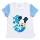 "Футболка детская Disney baby ""Микки"", рост 86-92см (28) 1-2 года"