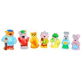 """Набор резиновой игрушки """"Теремок"""" Си-577"""