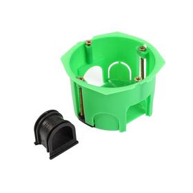 Коробка установочная HEGEL КУ1201-И, 68x45 мм, для полых стен