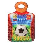 """Доска сувенирная """"RUSSIA, красная"""" 27.5х19.5см"""