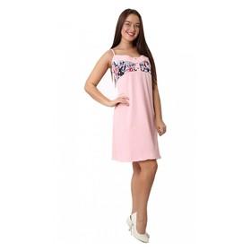 Сорочка женская М20 цвет розовый , р-р 44