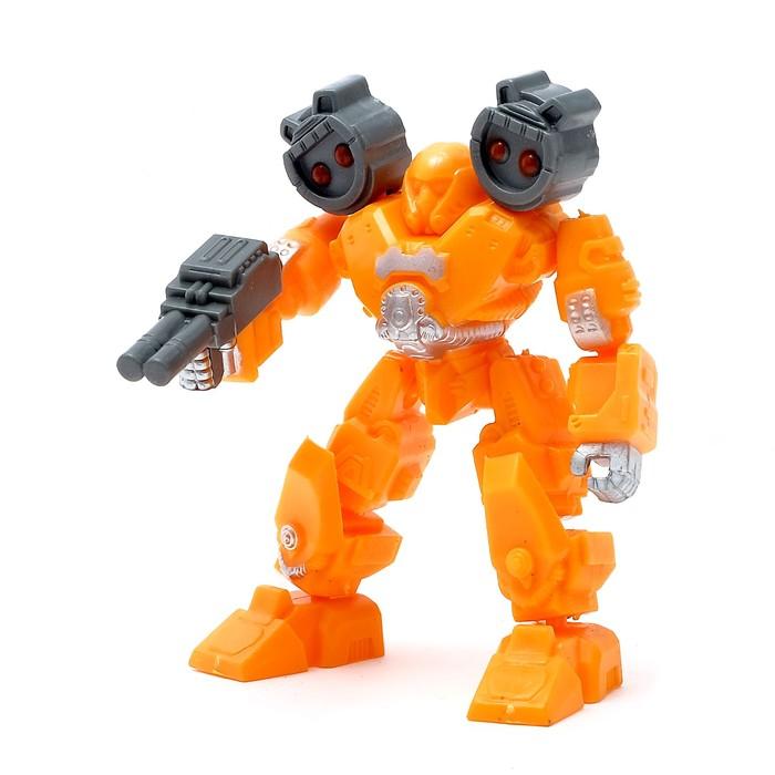 Робот-конструктор, цвета МИКС