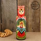 Штоф «Матрёшка - барыня», красный платок, сказка, 0,25 л, 25 см