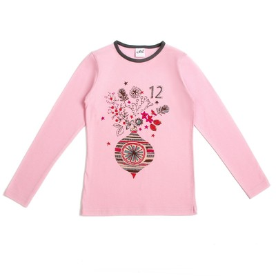 Джемпер для девочки, рост 98-104 см, цвет розовый 50010