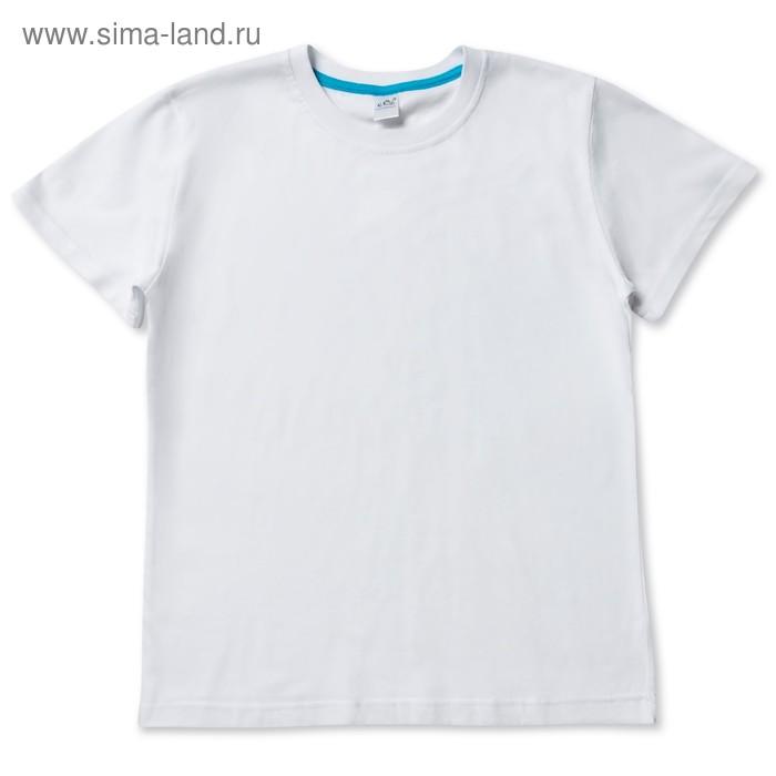 Футболка для девочки, рост 98-104 см, цвет белый 10213