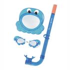 "Набор для подводного плавания ""Морские жители"", (маска, очки, трубка), от 3+ МИКС (24019) Bestway"
