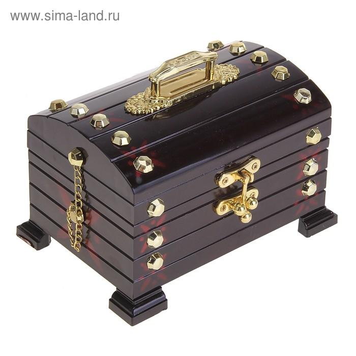 """Шкатулка музыкальная """"Сундук большой"""""""