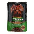Влажный корм Chammy для собак, кролик в соусе, 85 г