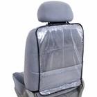 Накидка защитная на спинку сиденья SKYWAY, ПВХ, прозрачная