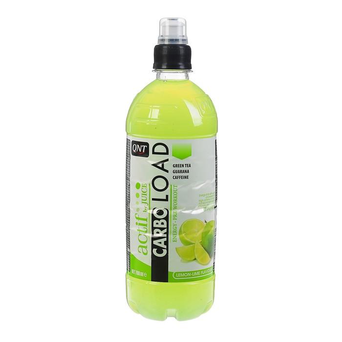 Напиток QNT Карбо Лоад, 700 мл, Лимон/лайм
