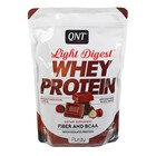 Протеин QNT Light Digest Whey Protein, 500 г, шоколад/лесной орех