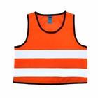 Жилет сигнальный светоотражающий детский Tplus, возраст 3-6 лет оксфорд, класс защиты 2, ГОСТ, цвет оранжевый (T001840)