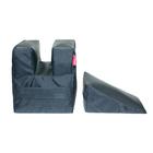 Комплект упоров для стрельбы Tplus PRO 2 шт., оксфорд, экокожа, чёрный, (T004445)