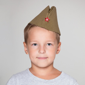 Пилотка пехотная со звездой, размер 55