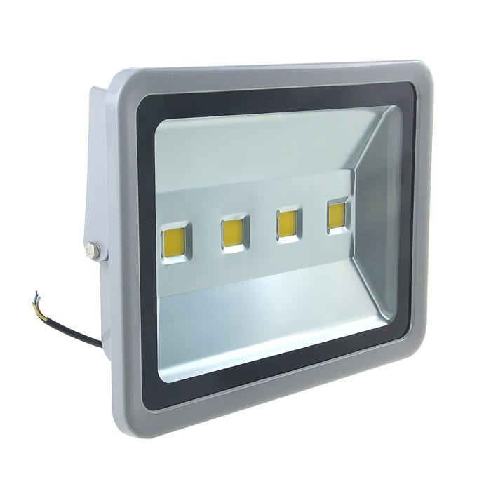 Прожектор светодиодный серия SLIM 200W, IP66, 18000Lm, 4000К БЕЛЫЙ ТЕПЛЫЙ Уценка