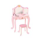 """Туалетный столик (трельяж) с зеркалом для девочки """"Принцесса"""""""