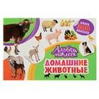 Альбом наклеек «Домашние животные»