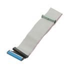 Шлейф Gembird IDE UDMA66/100/133, CC-IDE-66, 2 устройства, 80 жил, 48см, серый