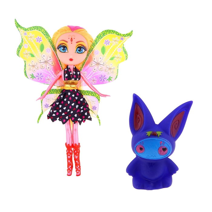 "Кукла ""Фея"" с питомцем, 2 вида"