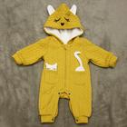 """Комбинезон детский """"Котёнок"""", рост 66 см, цвет жёлтый"""