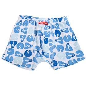 Трусы-боксеры для мальчика, рост 122-128 см, цвет голубой CAK 1359