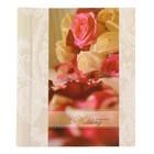 Фотоальбом магнитный 10 листов + 20 тематических страниц Diesel Wedding story8 розы