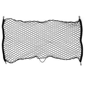 Сетка багажная 120х65 см, 4 пластиковых крючка