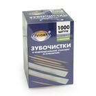 Зубочистки БАМБУКОВЫЕ, в индивидуальной бумажной упаковке, С МЕНТОЛОМ, 1000 шт в картонной коробке