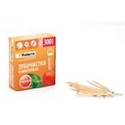Зубочистки бамбук, с ментолом, 300 шт в картонной упаковке